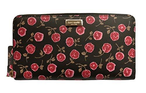 Kate Spade New York Neda Laurel Way Hazy Rose Zip Around Leather Wallet...