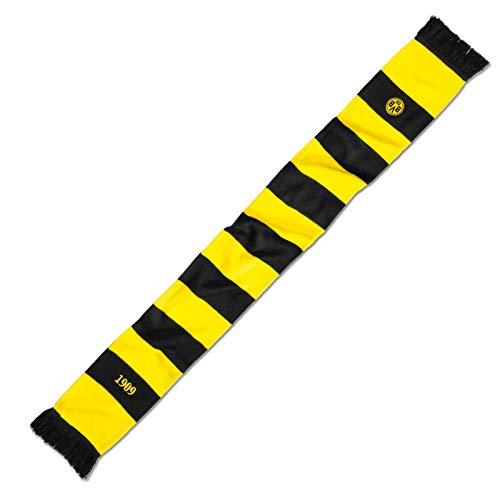 Borussia Dortmund, BVB-Schal mit Blockstreifen, schwarz/Gelb, 0