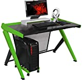 DXRacer GD/1000 Home Office Desks, 47.30 x 31.50 x 31.00 inch, Black & Green