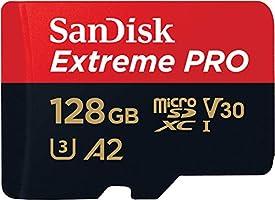 SanDisk 128GB Extreme Pro MicroSDXC Hafıza Kartı, 170 MB/sn'e kadar - SDSQXCY-128G-GN6MA
