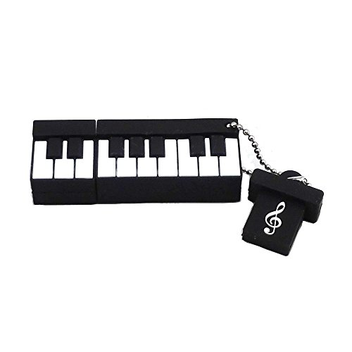 Aneew 16-GB-Speicher-Stick im Piano-Design, Musikinstrument-USB-Stick, Speicher-Stick. 16GB Piano