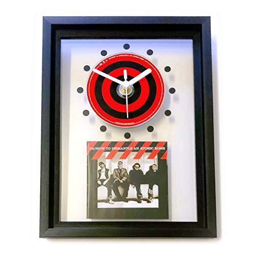 U2 - How To Dismantle An Atomic Bomb: GERAHMTE CD-WANDUHR/Exklusives Design