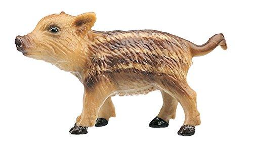 Bullyland 64396 - Spielfigur, Wildschwein Frischling, ca. 3 cm, ideal als Torten-Figur, detailgetreu, PVC-frei, tolles Geschenk für Kinder zum fantasievollen Spielen