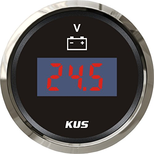 KUS Digital voltímetro voltaje calibre 9-32V 52mm (2