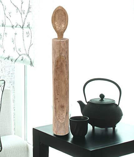 Better Trends Grove Collection of Home Decor ist freistehende Kunst, hergestellt von erfahrenen Kunsthandwerkern, 100% Mangoholz, Show-Piece in einzigartigen Designs, Löffel, Natur