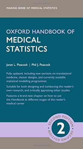 Oxford Handbook of Medical Statistics (Oxford Medical Handbooks)
