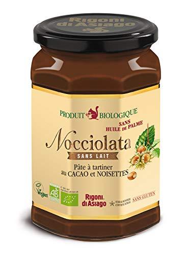 Nocciolata - Pâte à Tartiner au Cacao et Noisette Bio sans Lait sans Huile de Palme - 700 g