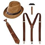 Widmann 68557 – Kit de déguisement Les Wilden 20, 5 pièces, bonnet,...