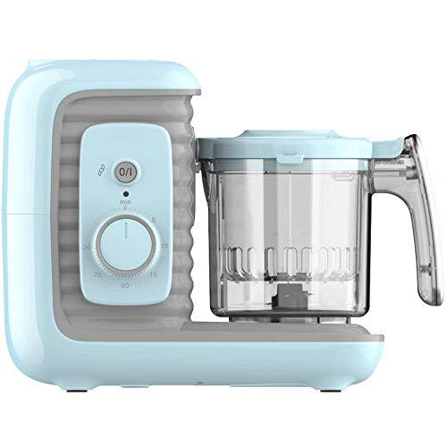 Automatische Babynahrungszubereiter kochende Maschine Babynahrung Kochen von Essen Reibe Rührmaschine Babynahrungsergänzung Haushalt automatische Waschmaschinen anti Shaogan,blau