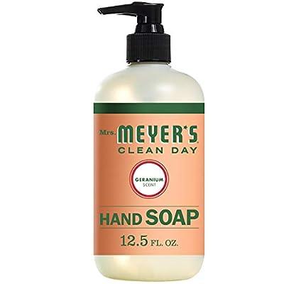 Mrs. Meyer's Liquid Hand Soap Geranium 12.5 OZ