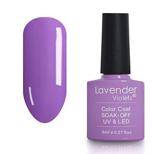 Soak-off UV LED Gel Nail Polish Kit 8ml Lavender