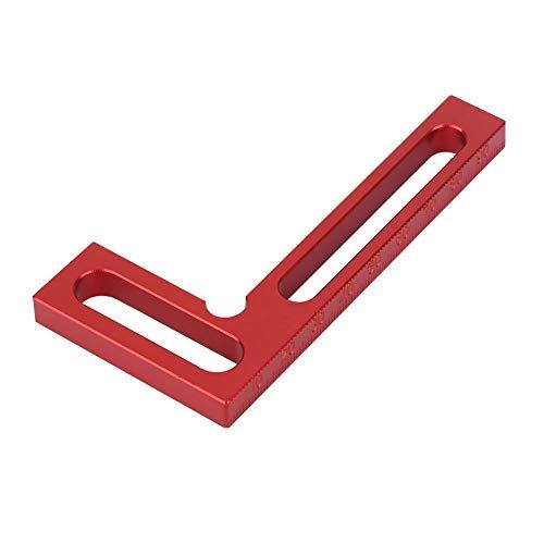Regla de Posicionamiento de 90 Grados Regla de Aleación de Aluminio Regla Cuadrada Transportador Cuadrado Herramienta de Carpintería de Bricolaje Para Ingeniero Carpintero