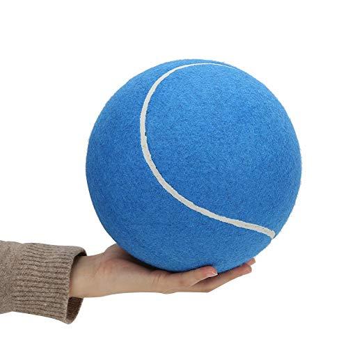 Opblaasbare tennisbal van rubber, extra groot, draagbaar, 20,3 cm (8 inch), grote tennisbal van rubber, opblaasbaar…