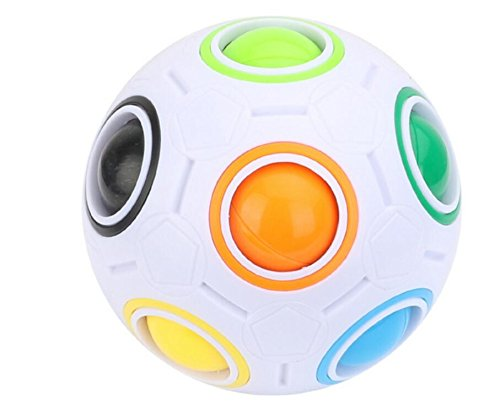 Gwanna Rainbow Magic Football Spielzeug Twist Puzzle Spielzeug Kinder pädagogisches Spielzeug (bunt)