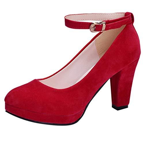 Zapatos Mujer De Tacón Alto Primavera Verano Sandalias Fiesta Gamuza Elegante 9cm Plataforma De Tacones de Aguja Calzado De Tacón Grueso Zapatos Romanos Gusspower