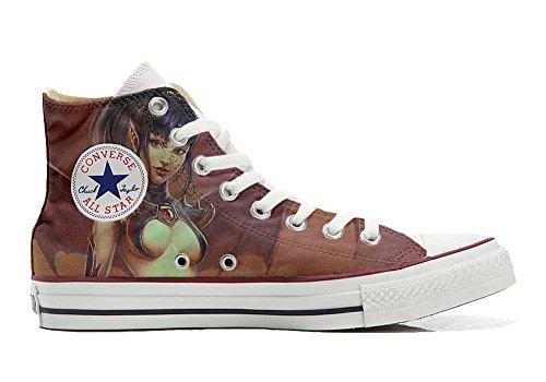 Schuhe Sneakers American USA Original personalisierte by MYS - Handmade Shoes - Krieger Sex - TG34