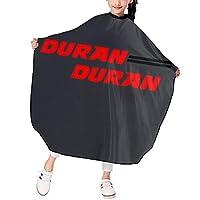 Duran Duran 散髪ケープ ヘアーエプロン 子供 ヘアカット 家用 美容院 理髪 便利 散髪 撥水加工 静電気防止 柔らかい つるつる 上質 おしゃれ 男女兼用 プレゼント