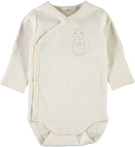 NAME IT - Body - Manches Longues - Bébé (garçon) 0 à 24 mois - Blanc - 1 mois