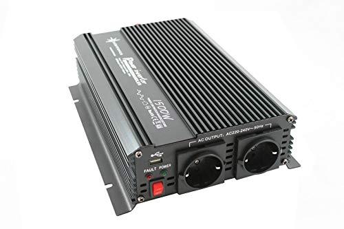 *Spannungswandler 12V 1500 3000 Watt 230V – Wechselrichter für den mobilen Anschluss von Haushaltsgeräten …*