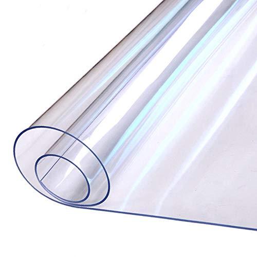 B/H Tabla del Lino Mantel Cordón,manteles Antimanchas Teflon,Mantel de PVC Engrosado, Mantel de plástico Impermeable y Anti-escaldado-1.0mm_40 * 60cm * 2