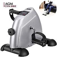 AGM Pedales Estaticos, Pedaleador Estaticos, Mini Bicicleta Estáticas, Máquinas de Piernas, Ejercitador de Pedal para...