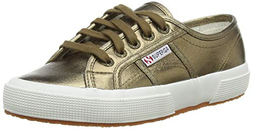 Superga Unisex-Erwachsene 2750-Cotmetu Sneaker, Braun (Bronze 160), 41 EU