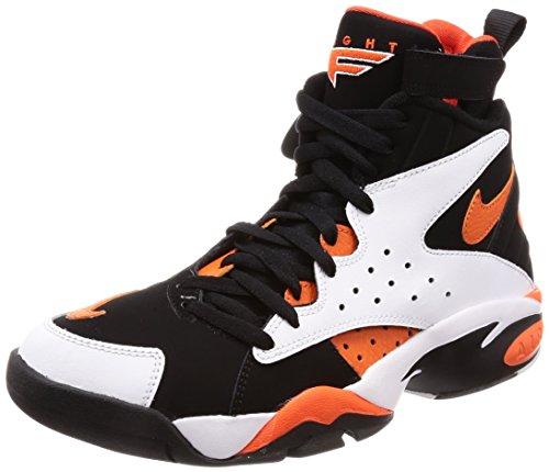 Nike Mens Air Maestro 2 Ltd White/Rush Orange-Black Ah8511 101 - Size 9
