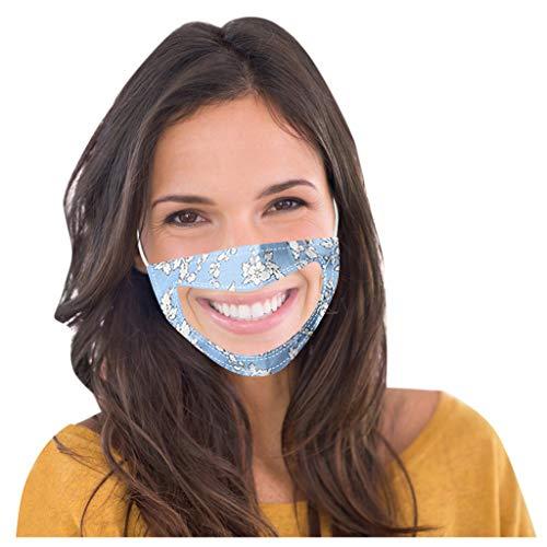 Wankting Smile - Funda para comunicador de boca con vinilo transparente