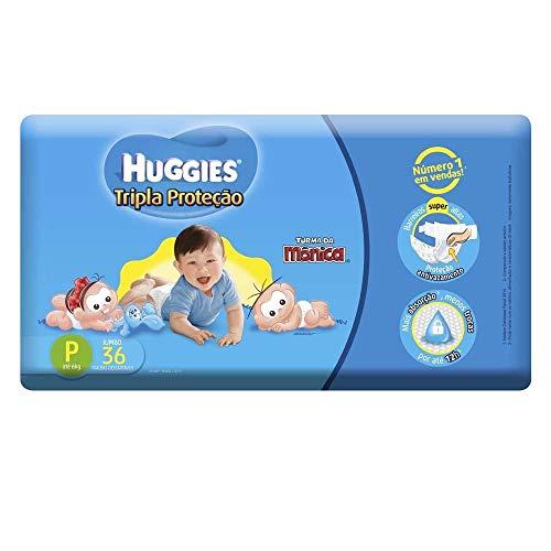 Fralda Huggies Jumbo P, 32 Fraldas