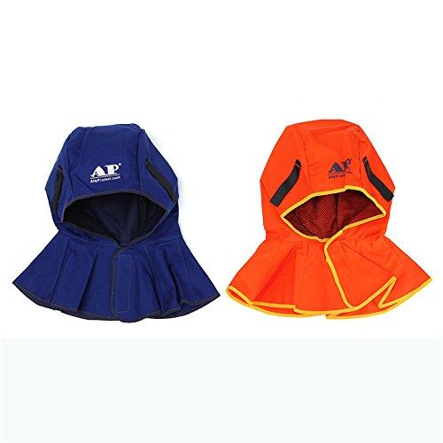 MASUNN Ap-6680 Match De Capot De Protection Complet avec Toutes Sortes De Casque De Soudure - Orange