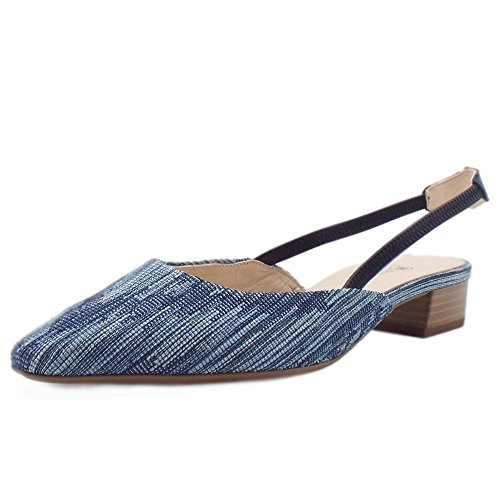 Peter Kaiser castra Damen Dressy Low Heel Sandalen in Jeans 36 Blue