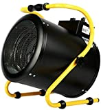 MLHXHX Calefactor industrial de 3kw/5kw/9kw, calentador comercial calentador de aire caliente, calentador de taller industrial doméstico de acero inoxidable 9000w