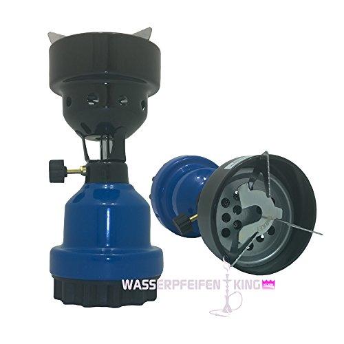 Coala Shisha Gasanzünder Kohlenanzünder für Wasserpfeifen Naturkohle blau