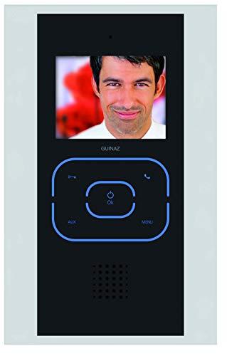 GUINAZ Monitor Digital Tactile Color Manos Libres, Empotrable