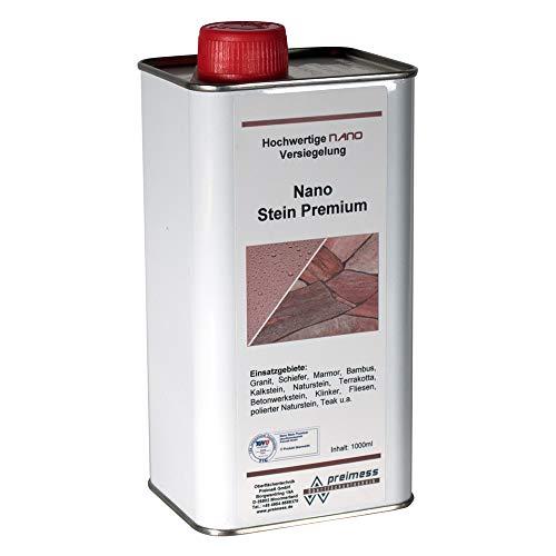 1 Liter Nano Stein Premium - Steinversiegelung für Granit - Marmor - Kalkstein - Sandstein