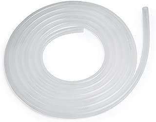 White SiliconeTubing, 3/8