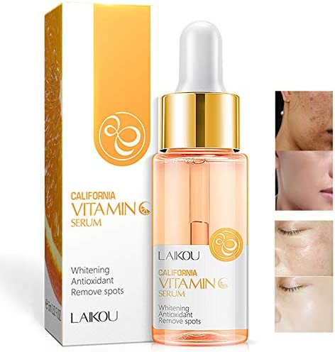 Vitamin C Serum with Hyaluronic Acid Natural Organic Anti Wrinkle Reduce Formula for Face Skin product image