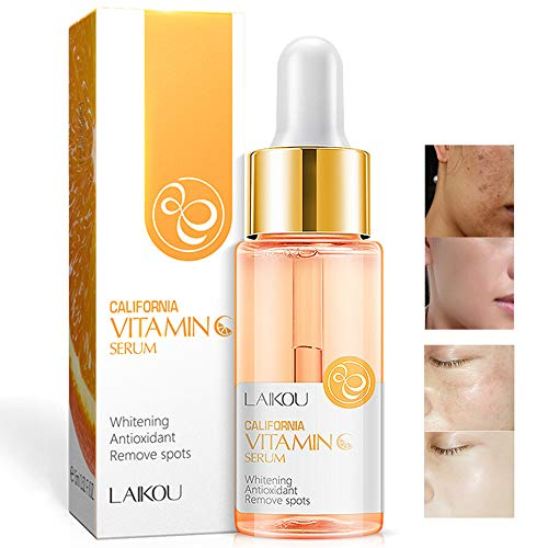 Vitamin C Serum with Hyaluronic Acid Natural & Organic Anti Wrinkle Reduce Formula for Face Skin Improve Remove Spots Essence