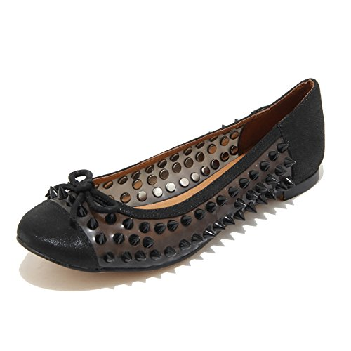 Jeffrey Campbell 3240I Ballerine Donna Nere astair Spike Scarpe Shoes Women [36]