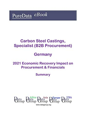 Carbon Steel Castings, Specialist (B2B Procurement) Germany Summary: 2021 Economic Recovery Impact on Revenues & Financials (English Edition)