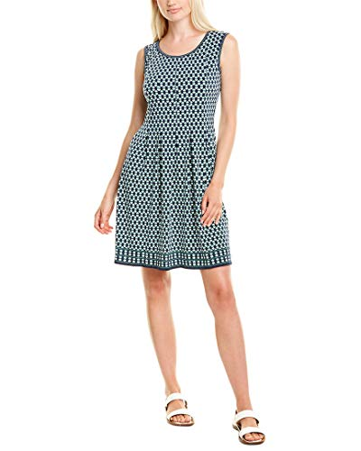 Romwe Women's Stretchy A Line Swing Flared Skater Cocktail Party Dress Yellow L