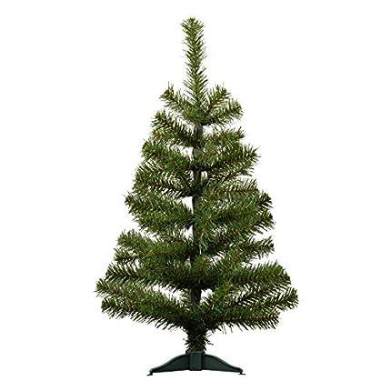 Árbol de Navidad artificial con pie - 60cm
