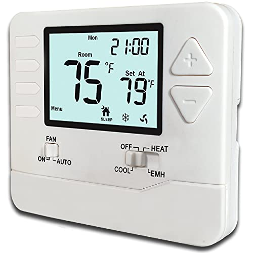 Heagstat H725 5-1-1-Day Programmable Heat Pump Thermostat