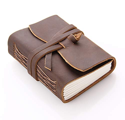 CEETOL ノート 本革 旅行者のためのノートブック 手作り手帳 システム手帳 高級 レザーカバー 皮革