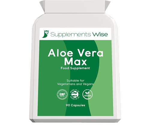 Aloe Vera Complex - 90 Capsules - Colon Cleanse and Flush - Gentle and...