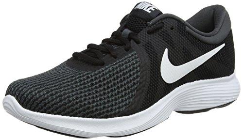 Nike WMNS Revolution 4 EU, Chaussures de Running Femme, Noir (Black/White-Anthracite 001), 39 EU