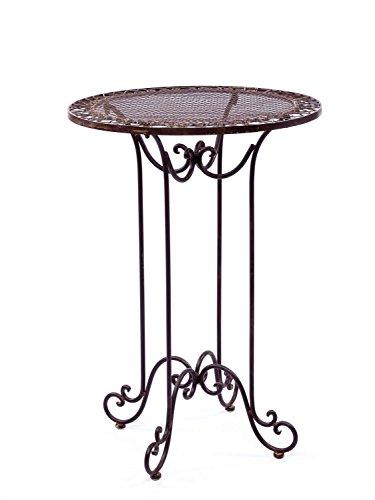aubaho Stehtisch Gartentisch Tisch Gartenmöbel Bistrotisch Tisch Antik-Stil Nostalgie
