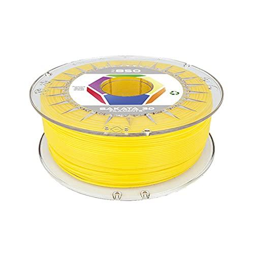 SAKATA 3D - 1Kg de Filamento PLA3D850 1.75MM, Ingeo Biopolymer 3D850 para impresoras y pluma 3D. Fabricado en España (Blanco)