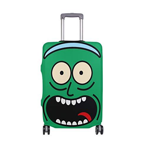 AJINGA Rick and Morty - Funda Protectora para Maleta de Viaje (Talla S, 45,7 a 50,8 cm)