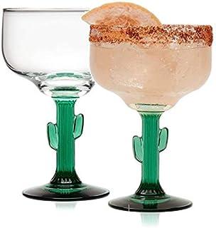 Quirky Wine Glasses with a Juniper Bonsai